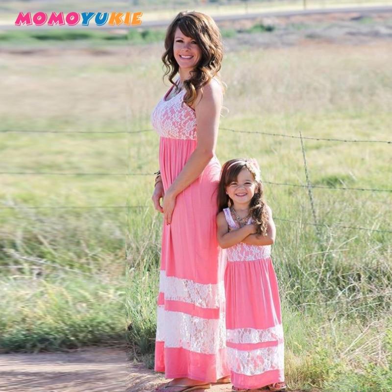 Одинаковые платья для мамы и дочки; Одежда для мамы и дочки; Платье в полоску для мамы; Одежда для родителей и детей; Одежда для всей семьи
