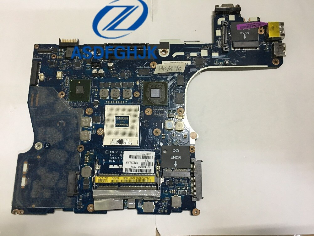 Для Dell Precision M4500 материнская плата для ноутбука QM57 58R56 058R56 CN-058R56 LA-5573P DDR3 w/FX 880M 1G GPU протестирован ОК