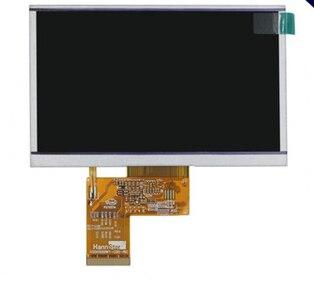 Pantalla LCD MP5/GPS de 4,3 pulgadas y GL043009T0-40 de pantalla táctil V1 envío gratis