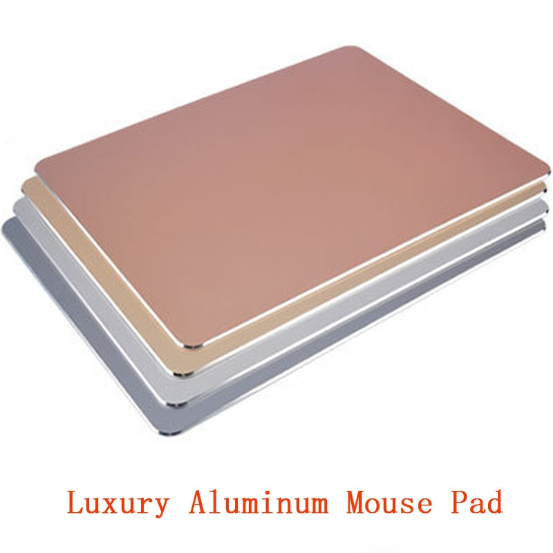 Luxury Aluminum Schlank Große Spiel Mauspad PC Computer Laptop Gaming Mousepad für Apple MackBook CS UNTERWEGS dota 2 lol