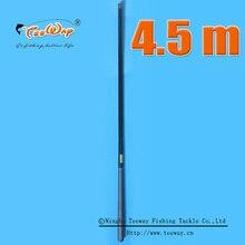 Redwolf carbono 4.5 m córrego taiwan mão pura de carbono varas de pesca vara de pesca kit conjunto hastes de fibra de carbono ferramentas