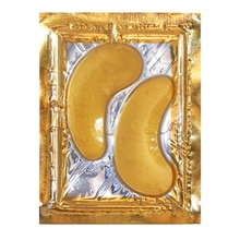 10 packs/lot Neutral Packing OEM ODM Golden Crystal Collagen Gel Eye Mask with No Brand Printing