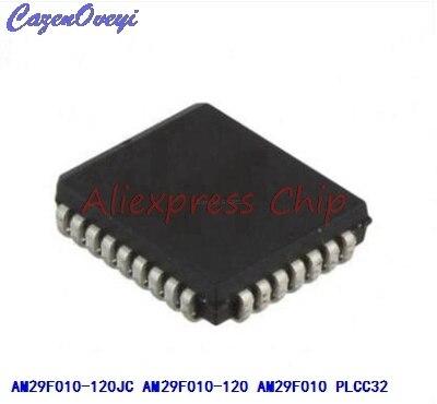 1 pçs/lote AM29F010-120JC AM29F010-120JI AM29F010-120 AM29F010 PLCC-32 Em Estoque