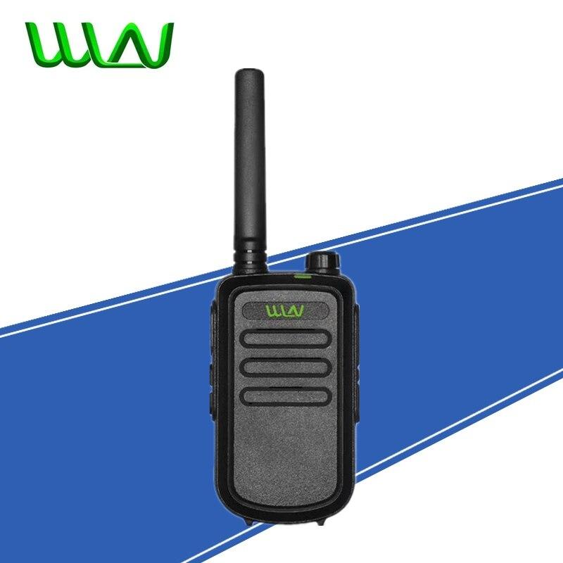 100% original wln KD-C10 uhf 400-470 mhz 16 canais mini rádio em dois sentidos fmr pmr walkie talkie kdc10