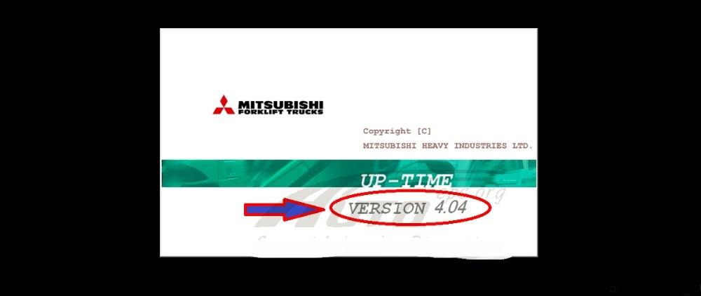 Wózki widłowe Up-Time 4.04 + crack dla Mitsubishi