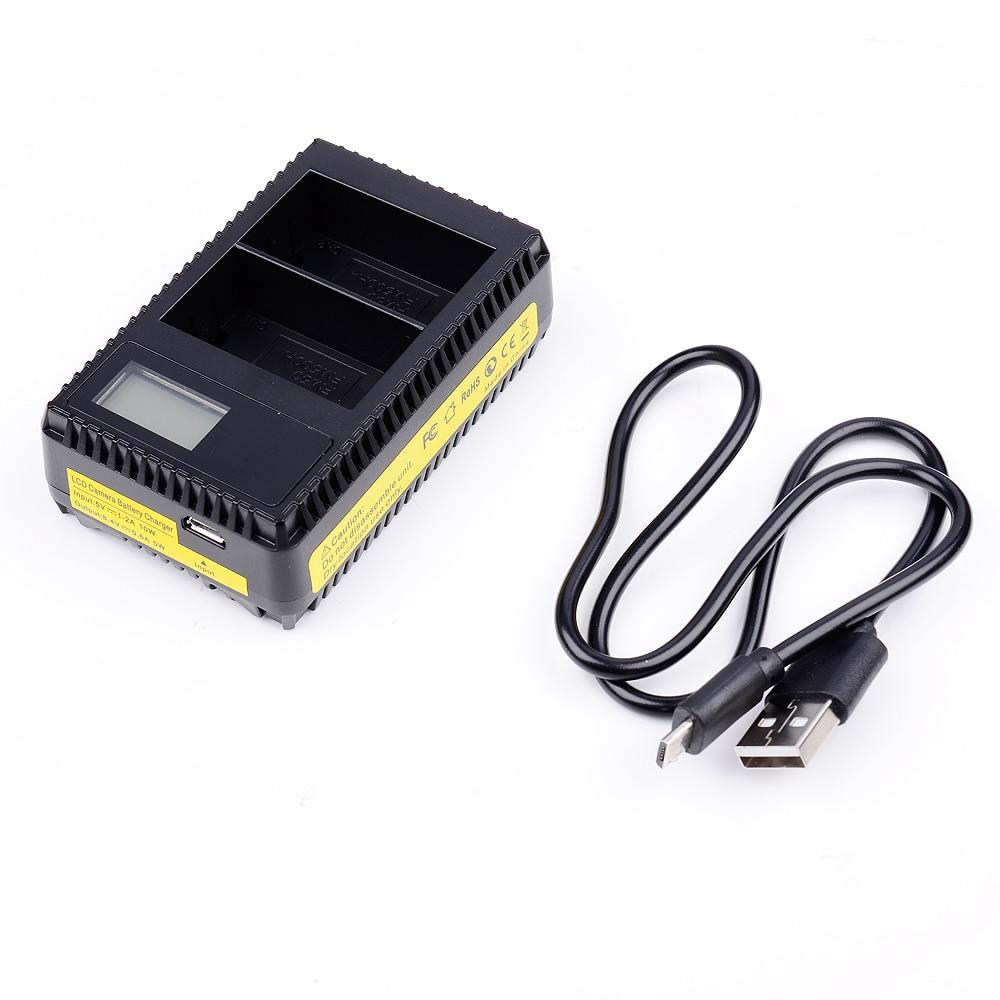 USB LCD Dispaly Dual Slot Schnelle Digitale Ladegerät für Sony NPF550 F570 NP-F550 NP-F570 FM500H FM50 Batterie