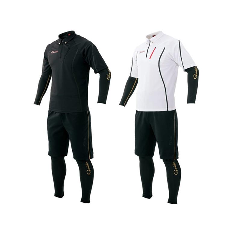 Gamakatsu-مجموعة ملابس الصيد للرجال ، مجموعة ملابس الصيد لربيع وصيف ، الرياضة في الهواء الطلق ، التنزه ، قميص الصيد ، السراويل قطعة مجموعة من 4 قطع...