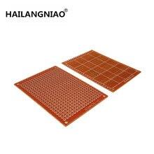 Neue 100 Stücke neue Prototyp Papier Kupfer PCB Universal-Experiment Platine 5x7 cm Marke