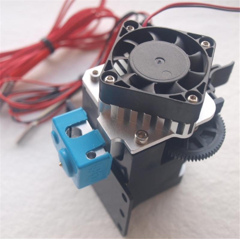 Ensemble de Titan Aero V6 hotend extrudeuse reprap imprimante 3D mise à niveau Titan Aero extrudeuse kit 1.75mm/3mm 12 V/24 V 40 W livraison rapide