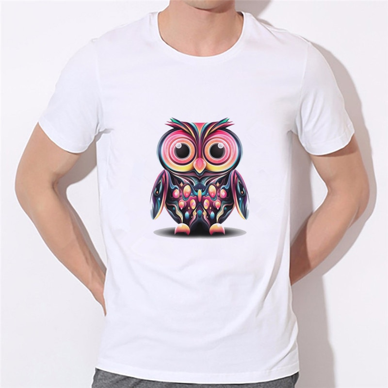 Camiseta de verão de manga curta do ovoxo da coruja do ouro do ovo drake dos ovos dourados 2020 novos masculinos