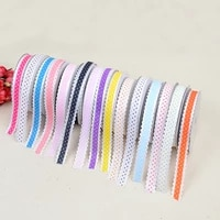 new embossed striped lace webbing tape packaging apparel shoes accessories 1 5cm 20 yards ribbon gift box ribbon accessories