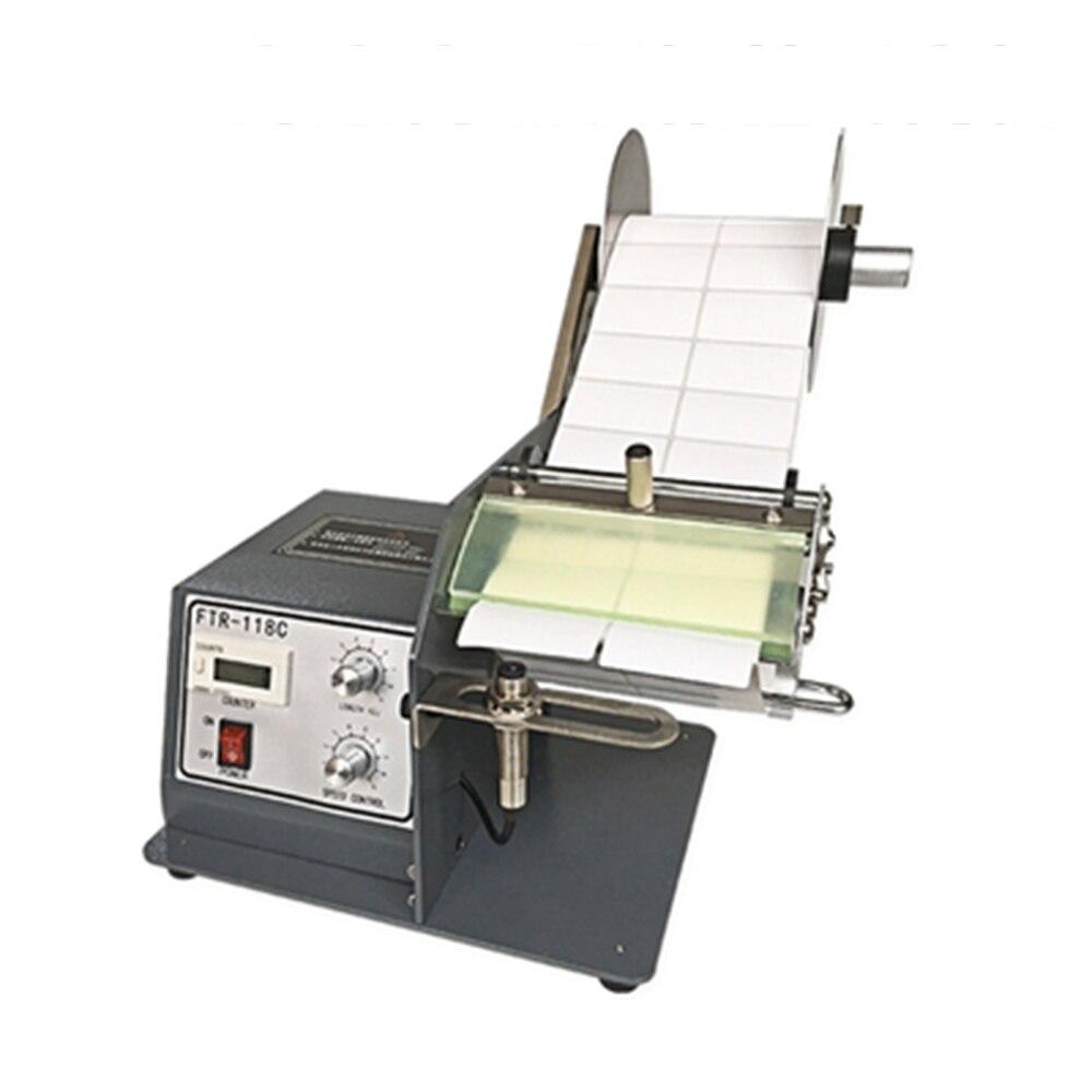 118C موزع بطاقات مع مكافحة الثقيلة التسمية الشائكة آلة ل التسمية عرض 5-120 مللي متر طول 5-150 مللي متر