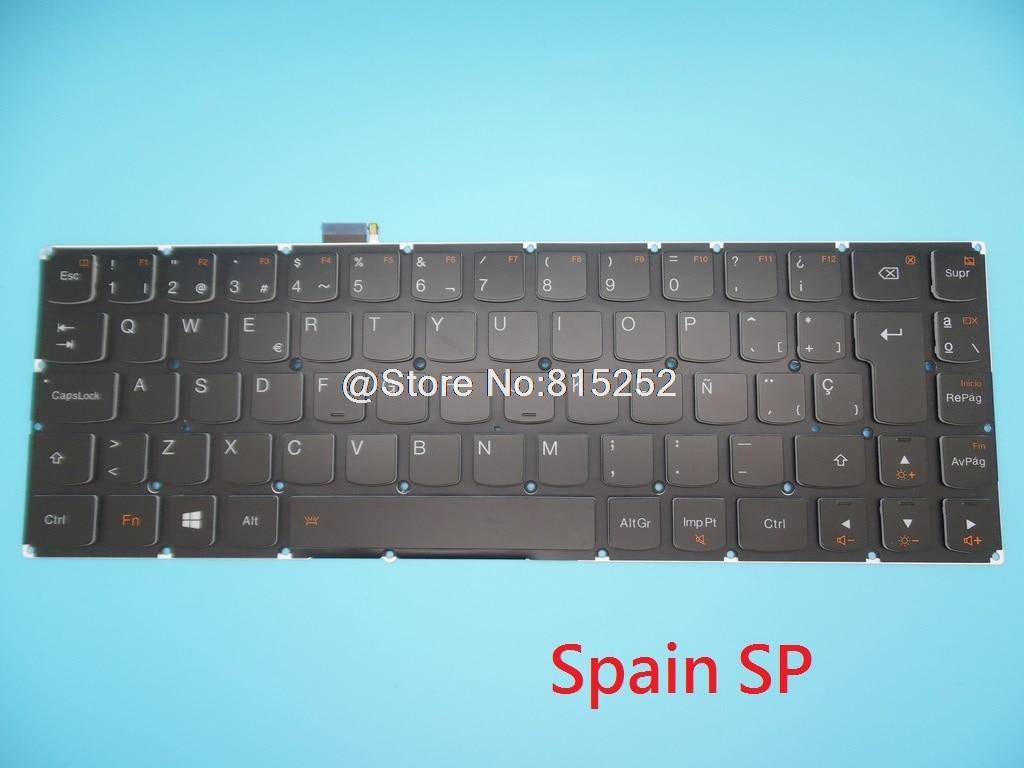 Клавиатура для ноутбука Lenovo YOGA 3 PRO 13 1370 Spain SP Thailand TI Turkey TR Великобритания английский США с подсветкой Новинка