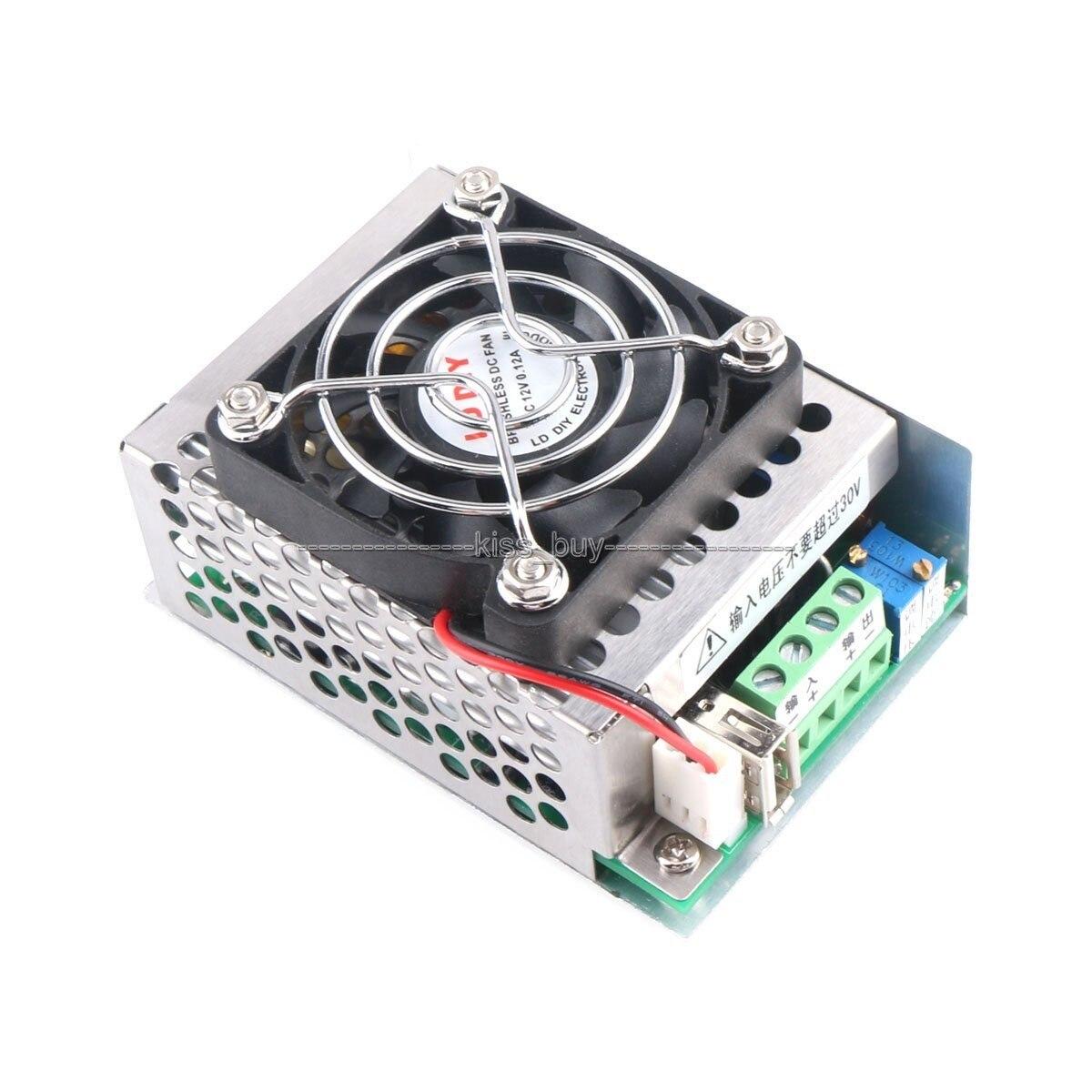 Convertidor Buck de 200W DC 8V ~ 40V a 1,25 V ~ 36V 10A regulador de voltaje de CC-CV ajustable cargador USB para teléfono/tablet PC/laptop etc.