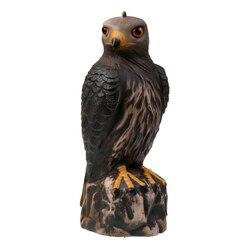 Magideal realista 3d águia caça chamariz-pássaro scarer espantalho-águia marrom chamariz decoração do jardim