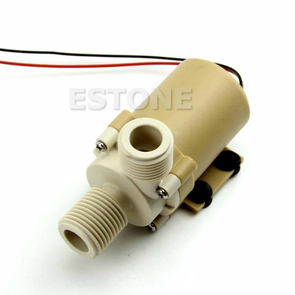 New DC 24V Solar Hot Water Circulation Pump Brushless Motor Water Pump 5M