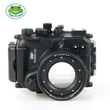 Onderwater 40 m Fotografie Case voor Panasonic Luxim MDC GM1 Camera Behuizing Surfen Zwemmen Regenachtige Dag Videografie Camera Tas