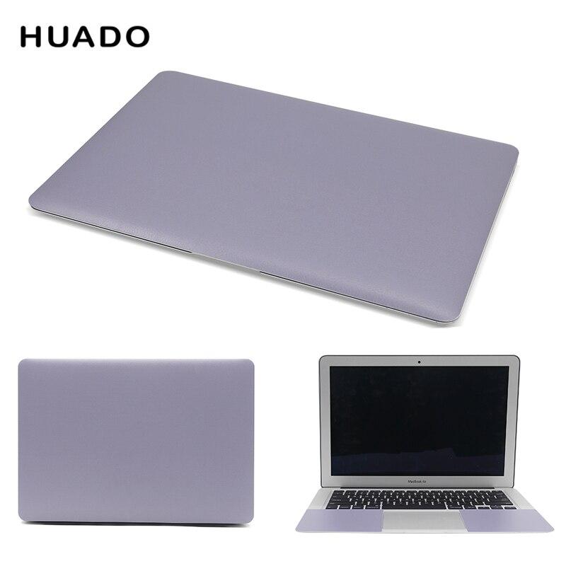 "Caderno de pele para computador de 17 polegadas, adesivo de vinil de 12 ""14"" para laptop e 15.6 ""decalques para mi pro 13.3/ace/hp/dell/mac"