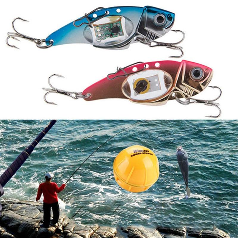 Nuevo señuelo Led intermitente para peces, luz de vibración, Agua Profunda, sal, agua dulce, aire libre