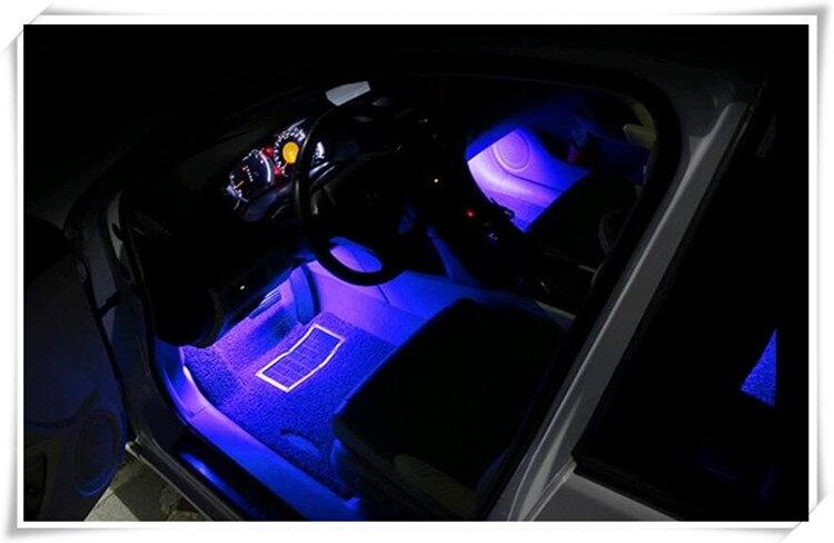Caliente 2018 nuevo acondicionamiento accesorios LED del coche para bmw e46 E60 E90 E36 E39 ford focus 2 3 volkswagen golf 4 passat b5 opel astra h J
