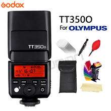 Godox Flash TT350 Mini Flash di Luce 2.4G Wireless Hss Tll 1/8000 S Maestro Speedlite Flash per Olympus panasonic Lumix Dmc-Camera + Regalo