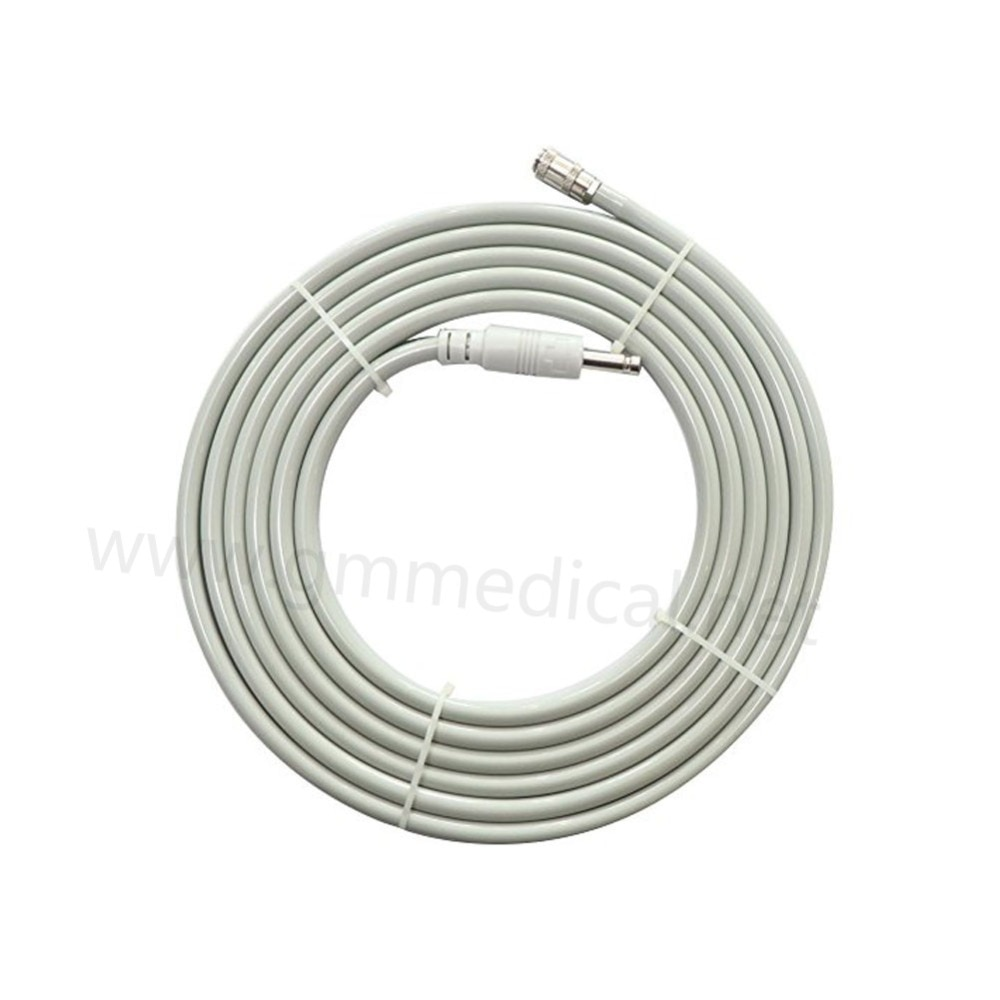 Blood Pressure Cuff Air Hose Single tube,L=3m.Compatible with Philips, OEM M1599B NIBP extension tube.