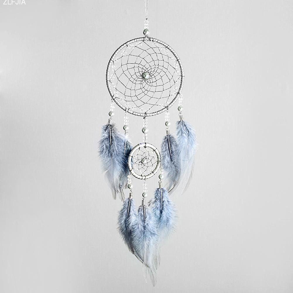 Простой Ловец снов, взглянув на звездное небо, индийское перо, Ловец снов, Висячие аксессуары, хороший литературный подарок