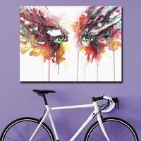 Toile dart abstraite a la mode  images murales  peinture a lhuile pour salon  decoration de maison  peinture a lhuile sur toile