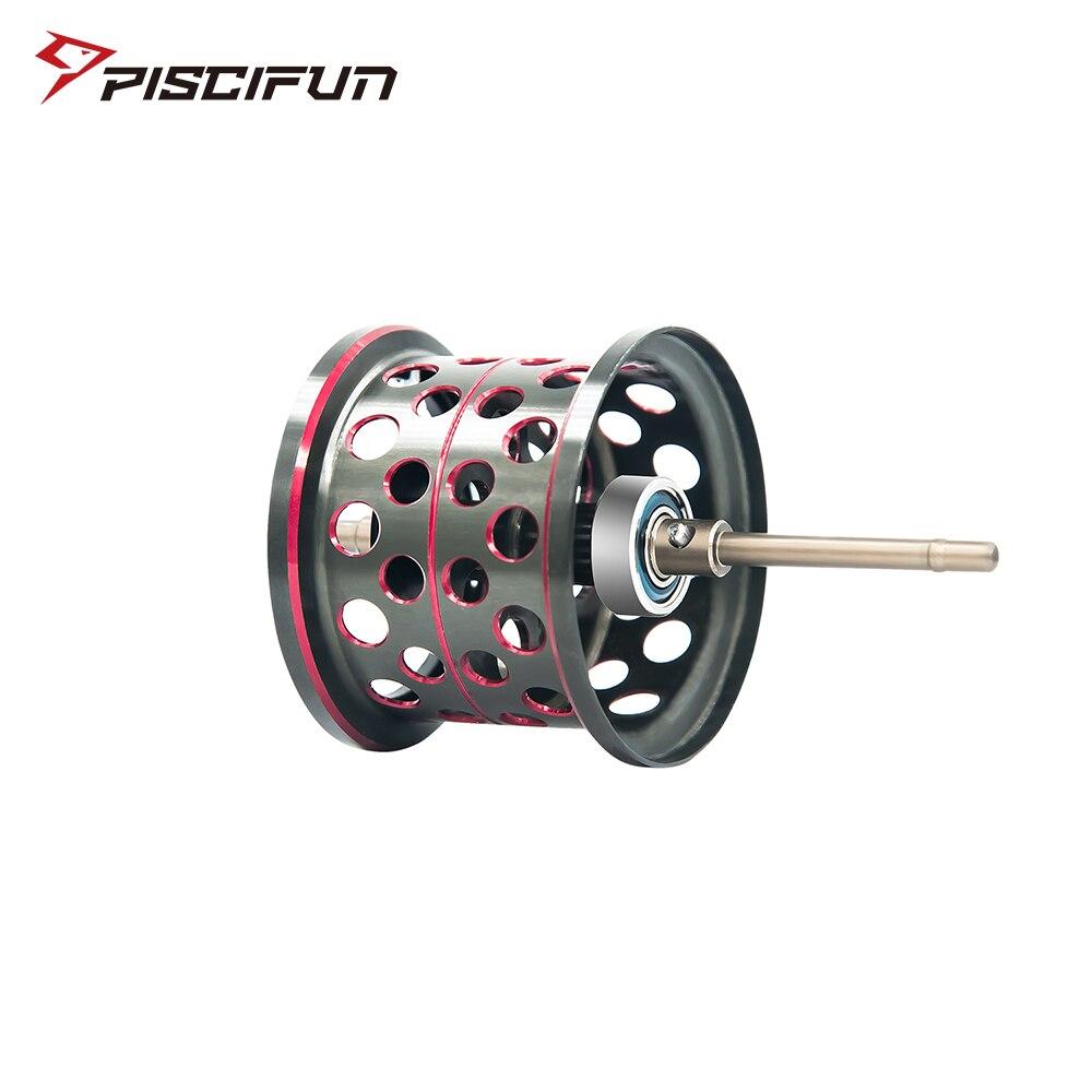 Piscifun Elite Baitcasting carrete de aluminio ligero carrete magnético freno doble Baitcasting carrete de repuesto
