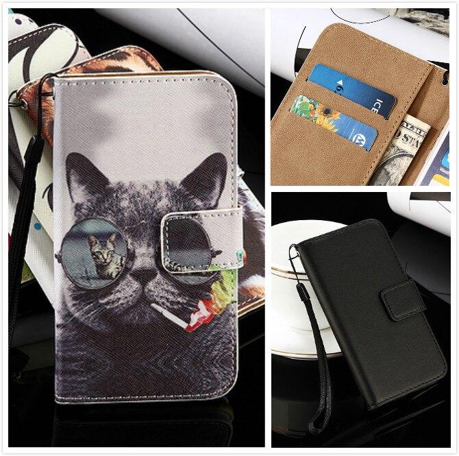 Para funda Kiano Elegance 5,1 Flip lujo exclusiva Beschermende 100% speicale Telefoon funda para kiano elegance 5,1