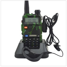 Camouflage baofeng Radio dualband UV-5R talkie-walkie double affichage 136-174/400-520MHz radio bidirectionnelle avec BF-UV5R écouteur gratuit