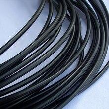 Housse de câble souple élastique 21   Tube thermorétractable Flexible brillant 1mm ~ 16mm diamètre manchon de câble souple, ligne découteur Audio professionnelle