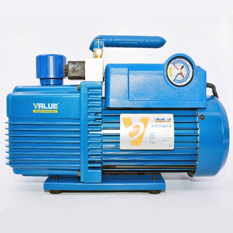 Bomba de vacío refrigerante V-I280SV Four 4 LBipolar 14.4M3/H, bomba de vacío de unión de pantalla 220V 750W con válvula de solenoide