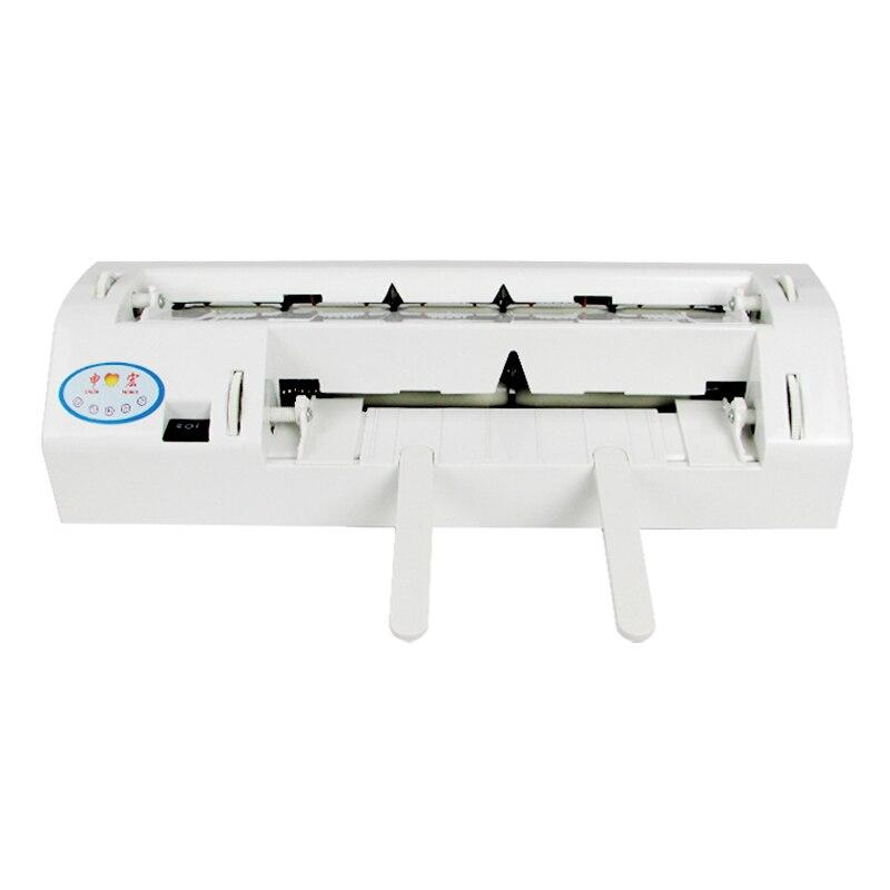 آلة قطع بطاقات العمل الكهربائية الأوتوماتيكية ، 220 فولت/110 فولت ، للخدمة الشاقة ، حجم A4