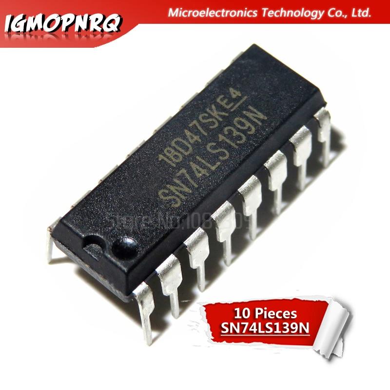 10 Uds SN74LS139AN DIP-16 SN74LS139N DIP16 74LS139 DIP HD74LS139P
