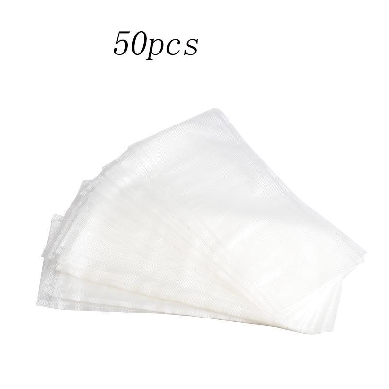 50 Uds PVA bolsa de malla para Boilies de pescado de basura alimentador de disolventes de agua aparejo de pesca de mar Material Accessoriesing