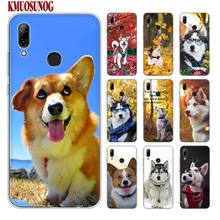 Silicone Phone Case Cute dog Wacky Husky for huawei P30 Lite P Smart Honor 7A 8 8A 8C 8X 10i Y5 Y6 Y7 Y9 Pro 2019 2018 2017