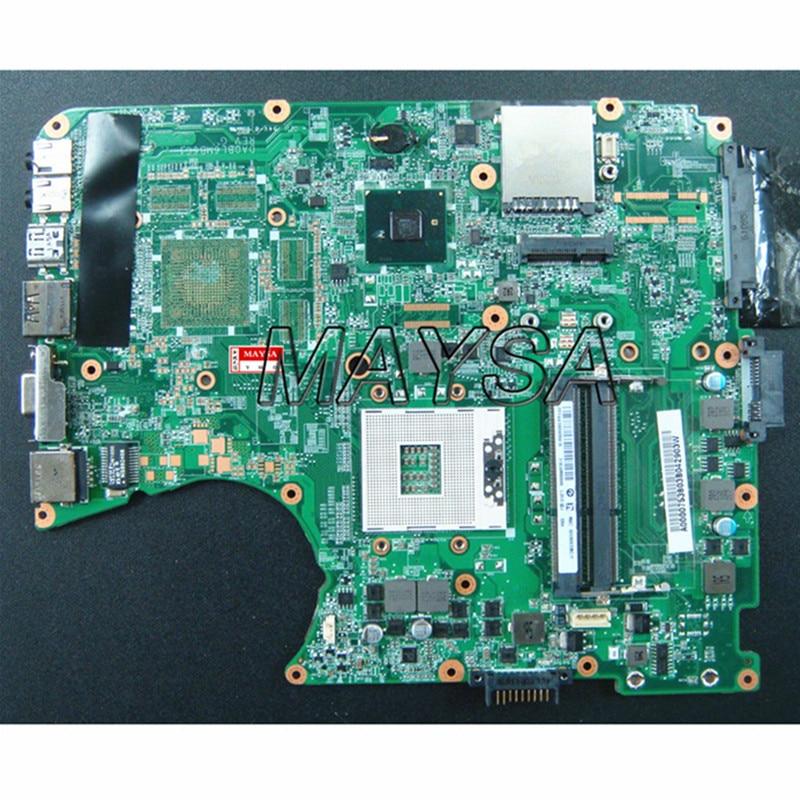 A000075380 laptop motherboard fit for toshiba satellite L655 L650 31BL6MB0000 DA0BL6MB6G1  HM55 DDR3 100% working