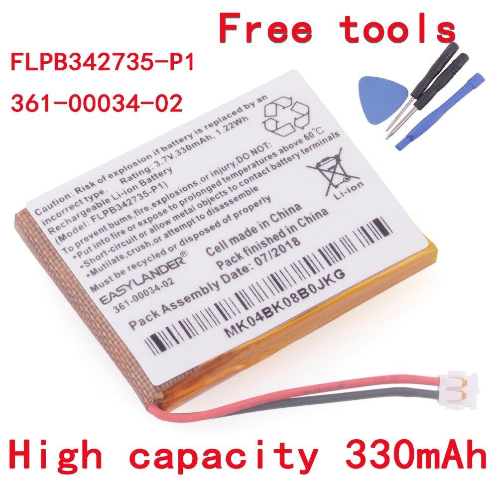 Easylander FLPB342735-P1 3,7 V 330mAh запасная батарея для Garmin fenix 3 fenix3 F3 fenix 3 HR GPS спортивные часы 361-00034-02