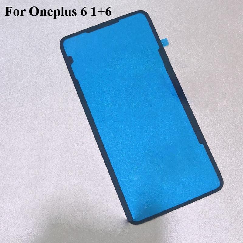 2 uds. Para oneplus six onleplus 6 oneplus 6 one plus six 6 1 + 6 batería trasera bisel 3M pegamento cinta adhesiva de doble cara