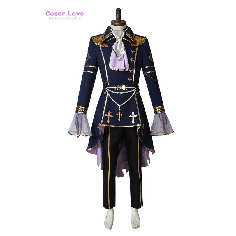 Conjunto de traje de Cosplay de Caballeros de las estrellas Sena Izumi, disfraz de Carnaval y Halloween, Año Nuevo, disfraz de Navidad