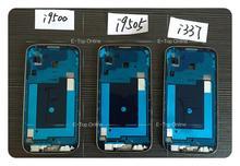 Novaphopat Für Samsung Galaxy S4 SIV I9500 i9505 I337 M919 LCD Rahmen Front Gehäuse Lünette Platte Mittleren Frame Silber