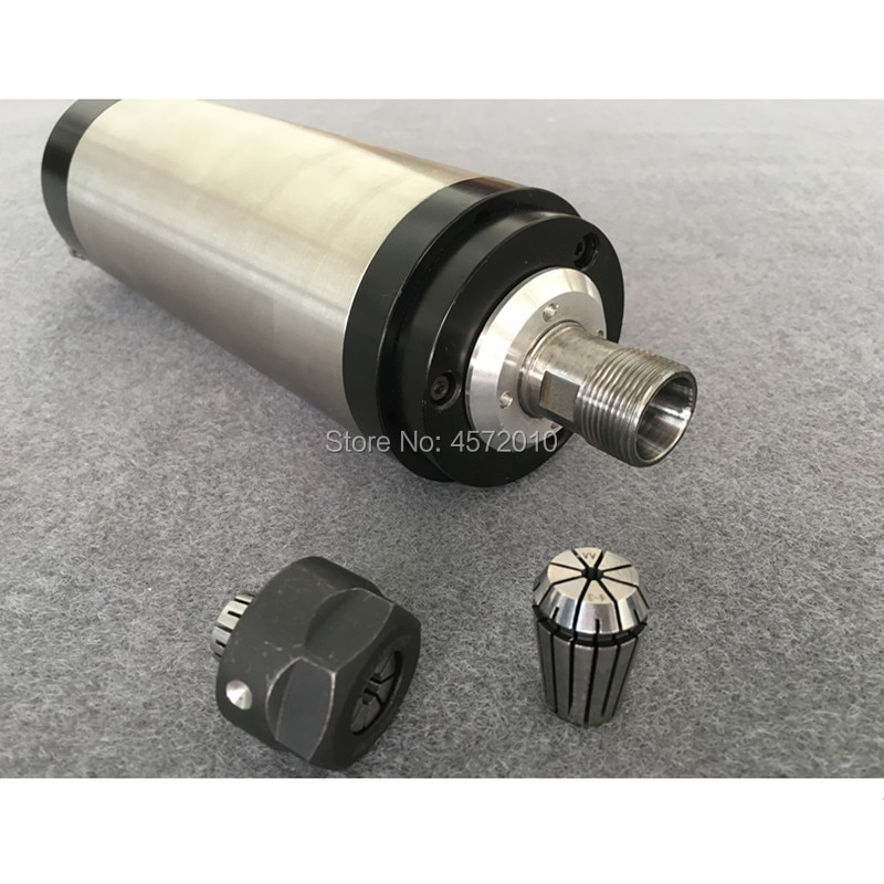 1.5KW 65 80MM ER11 16 cnc Spindle 24000rpm Machine Spindle Motor Air Colling Engraving Milling 220v AC Spindle 4 Bearing.