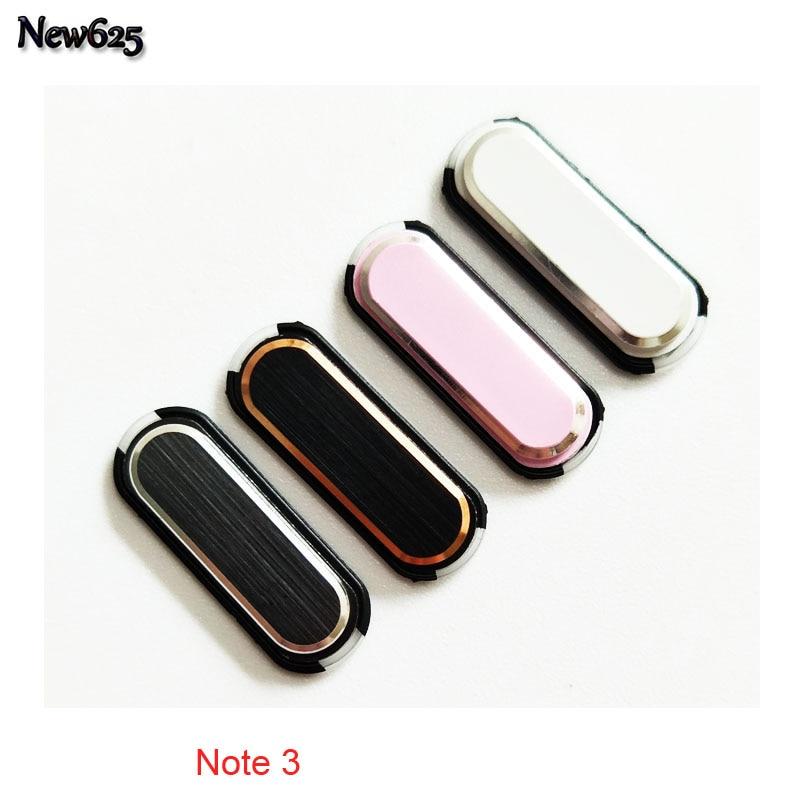 Nuevo Original para Samsung Galaxy S4 I9500 I9505 I337 nota 2 N7100 nota 3 N900 N9005 casa reemplazo del botón clave