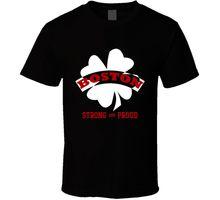Boston Strong & Proud Support USA T Shirt  O-Neck Sunlight Men T-Shirt Top Tee Men New High Quality Top Tee Light