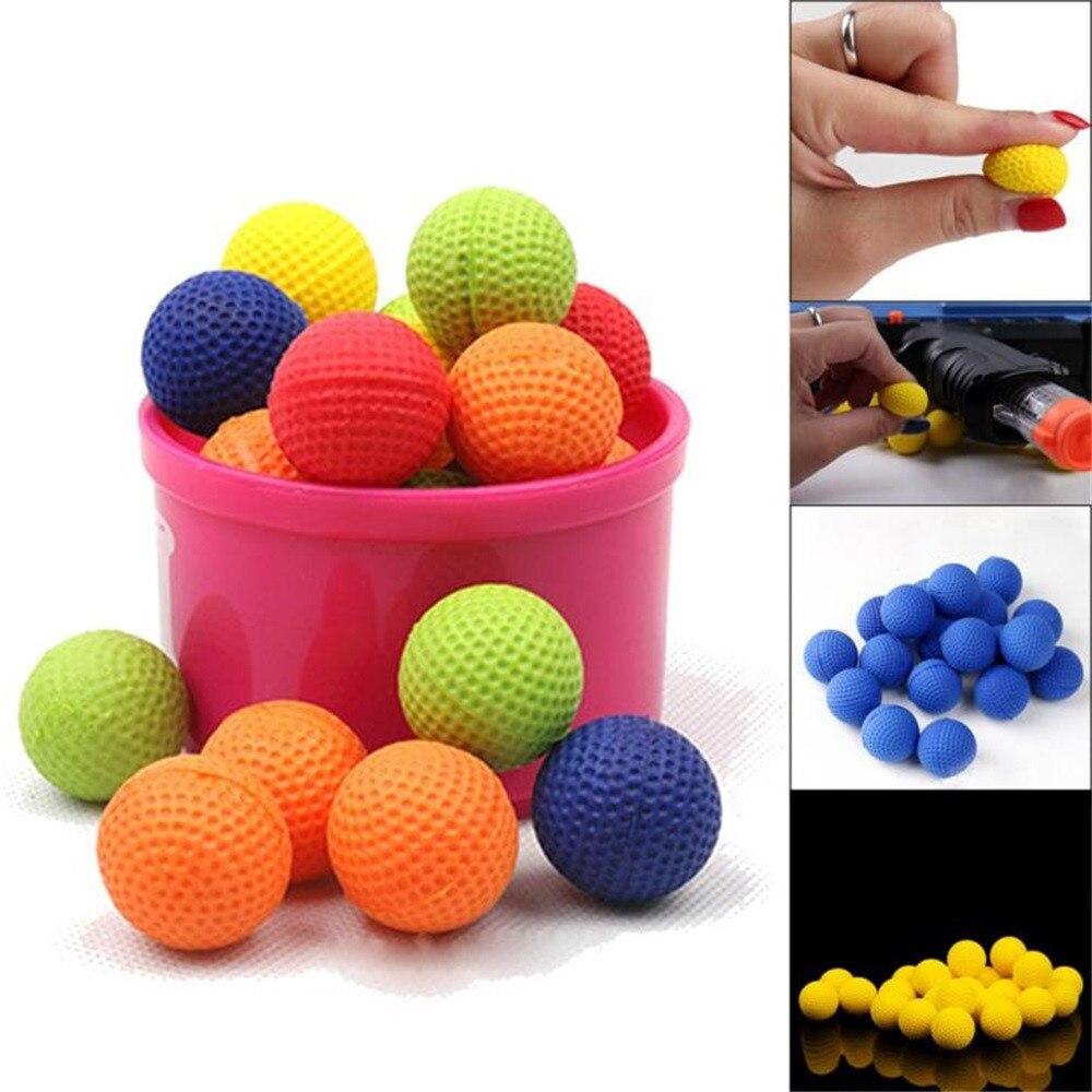 10 unids/set de balas redondas compatibles con Nerf Rival recarga Apollo juguetes para niños