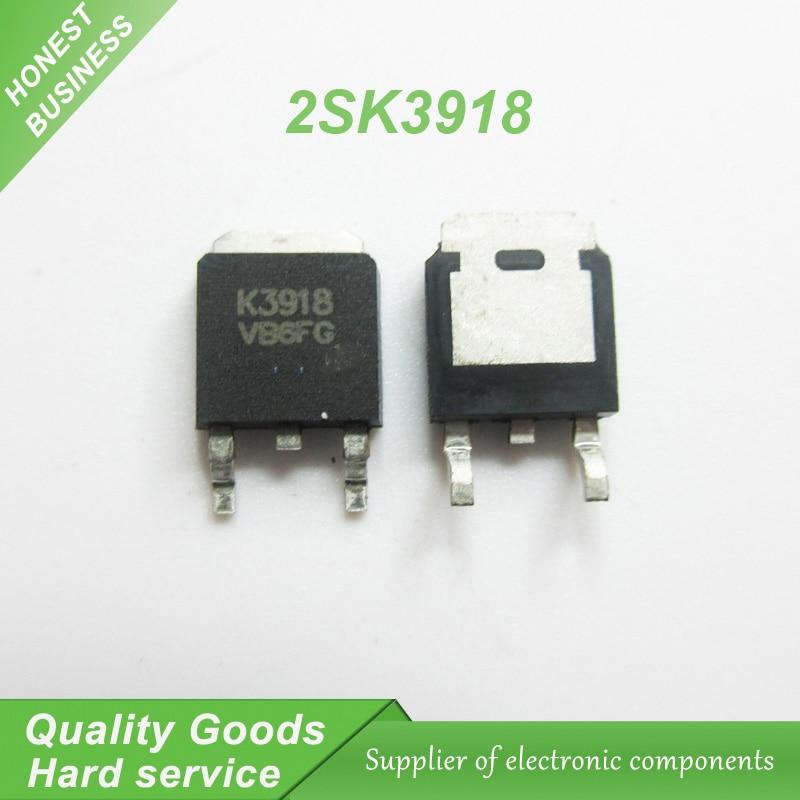 10pcs 2SK3918 K3918 TO-252 offen use laptop chip new original