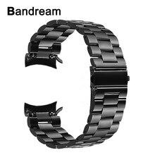 Bracelet de montre en acier inoxydable + extracteur de lien pour Samsung Gear S3 Classic Frontier SM-R760/bracelet de montre de sport R770 bracelet de poignet en métal