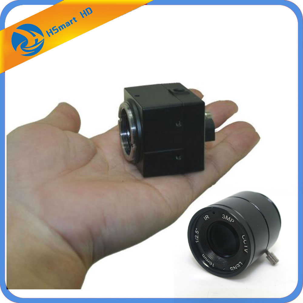 H.264 CCTV Sony IMX811 700TVL 2,8mm 8mm 16mm 12mm CS lente HD de SONY cámara CCD de caja de seguridad CCTV Mini cámaras