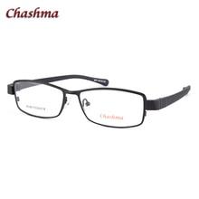 Lunettes de Prescription en titane pour hommes   Lunettes de lunettes Ultra légères, Style Sport et myopie, largeur 138